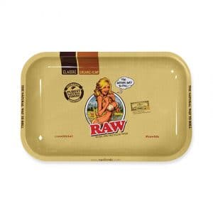מגש רו סקסי - קטן | Roll Tray Raw Sexy Girl