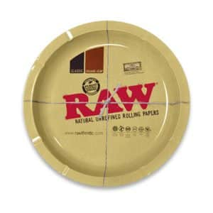 רו מגש עגול - גדול | RAW Round Metal Tray