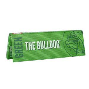 בולדוג נייר גלגול טבעי - קטן | The Bulldog Green 1/4 Rolling Papers
