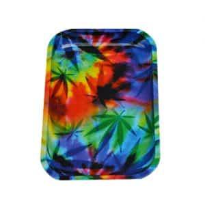מגש גלגול קנאביס פסיכודלי - קטן | Psychedelic Cannabis Tray