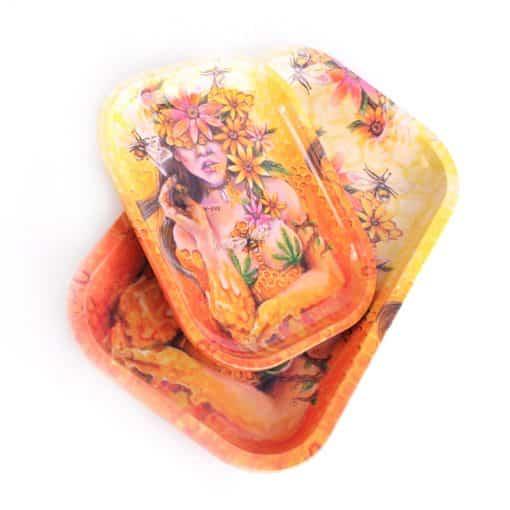 מגש גלגול מלכת הדבש - קטן | Honey Queen Tray Small