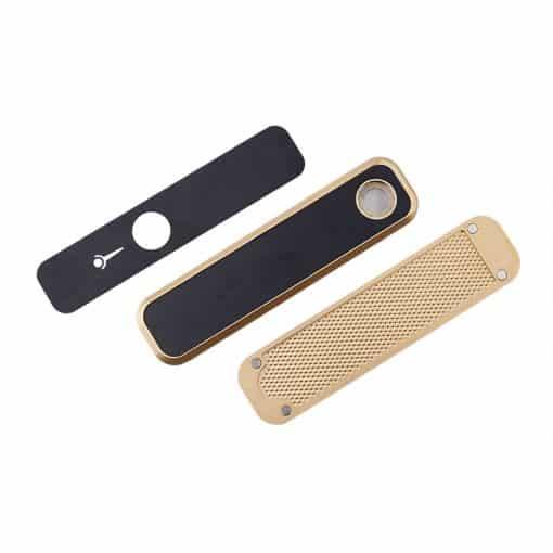 סמארט פייפ | Smart Pipe 3 חלקים בצבע זהב