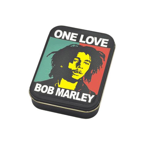 קופסת פח בוב מארלי ONE LOVE