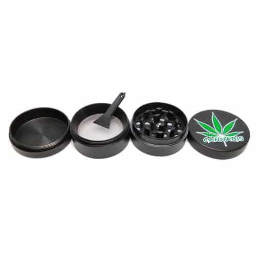 גריינדר מתכת 4 חלקים קנאביס | Metal Grinder 4 Parts Cannabis גריינדר פתוח