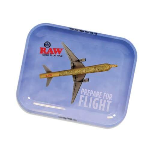 מגש רו גדול - מטוס מגולגל   RAW Prepare For Flight Rolling Tray