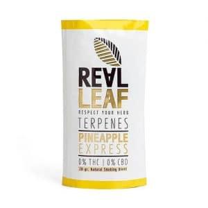 תחליף טבק ריליף טרפנים מזן אננס אקספרס | RealLeaf Pineapple Express